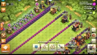 Clash of Clans Welche Truppe ist die schnellste???