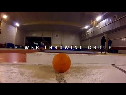 Power Throwing Groupe - Entrainement