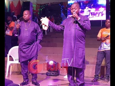 Download Adegbodu Twins Storms On Stage In Style,As They Got People Seriously Dancing With Their Performance