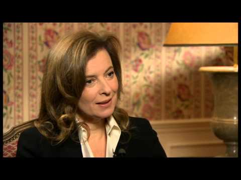 Where's The Dignity In Keeping Silent? Valerie Trierweiler On Newsnight