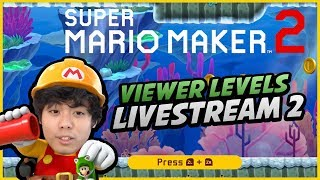 "[🔴LIVE] ""VIEWER LEVELS WEEK 2"" - Mario Maker 2... (Reqest via Discord!)"