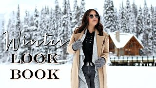Winter Lookbook 2017: Outfit Ideas for COLD weather