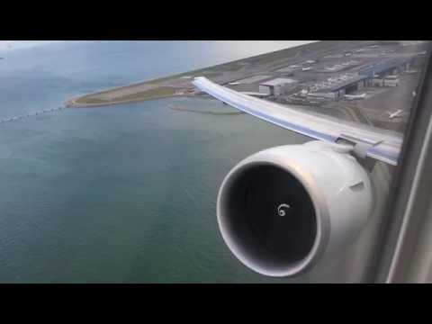 [GE90] Cathay Pacific Airways B777-300ER takeoff at Hong Kong