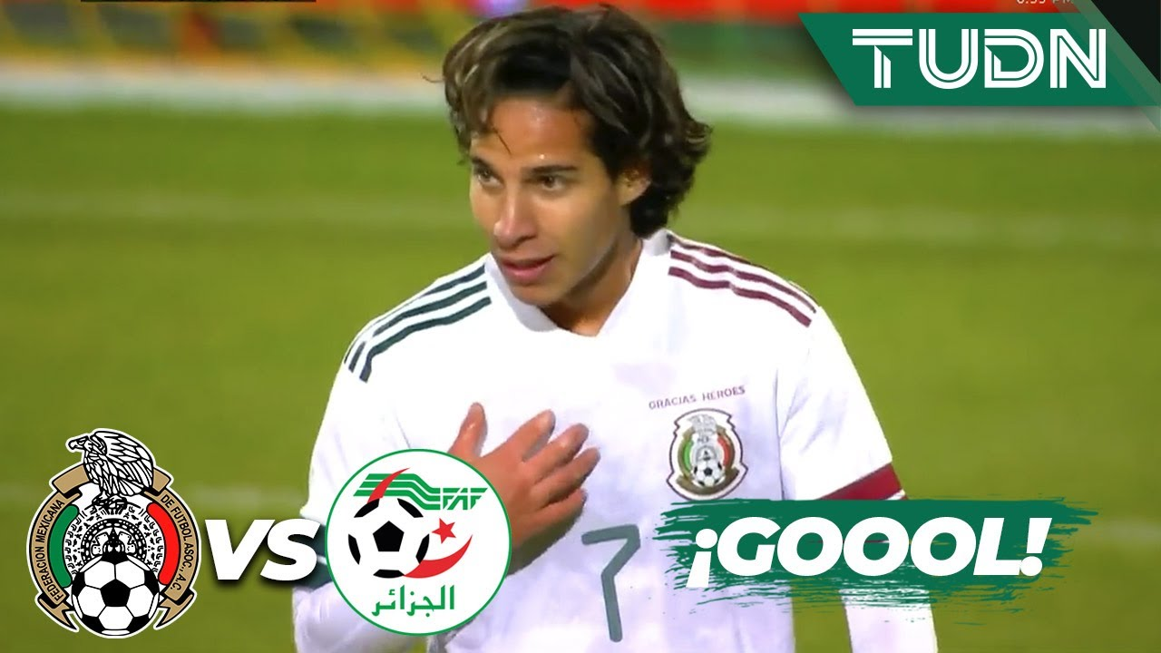 Final: Mxico empat 2-2 contra Argelia