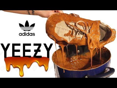 THE CANDY APPLE ADIDAS YEEZY 350 BOOST