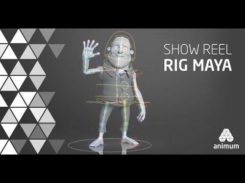 Rigging Reel Autodesk Maya - Alumnos Rigging 3D Animum 2016