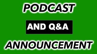 Productivity Tip, Q&A Announcement, and Podcast