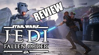 Star Wars: Jedi Fallen Order Review - Is The Force Strong With This One? (Video Game Video Review)