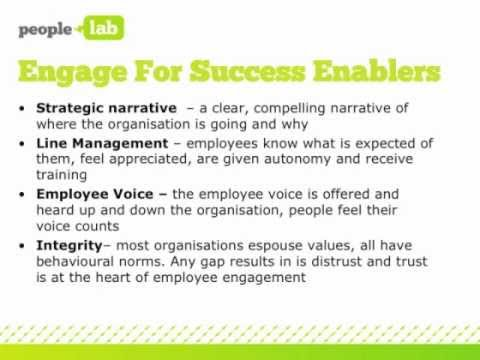 A Rough Guide to Employee Engagement