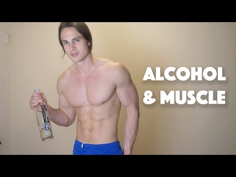 Effects of alcohol on building muscle, while I get drunk | 10k sub special
