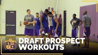 Lakers Draft Prospect Workouts: Bryant, Williams-Goss, Beachem, Hawkins, White
