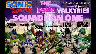 SC6: The Sonic Valkyries Gameplay Parody Trailer: Green Hill, Marble, & Spring Yard