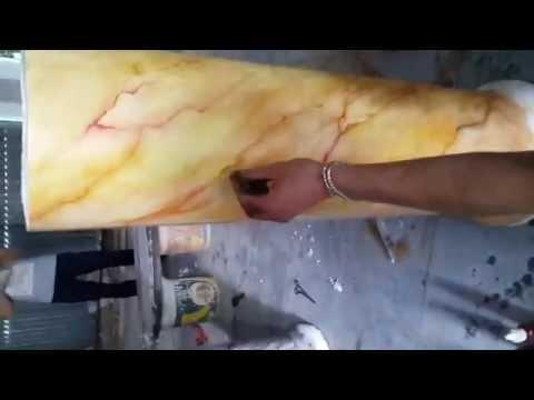 sơn cột giả đá, cột cẩm thạch đẹp, son cot gia da cam thach LH 0962 269 369
