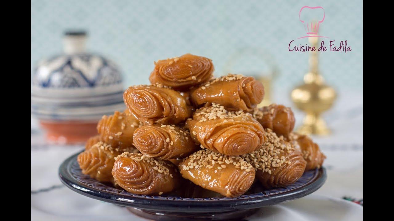Rghaifs feuillet es au miel youtube for Video de cuisine youtube