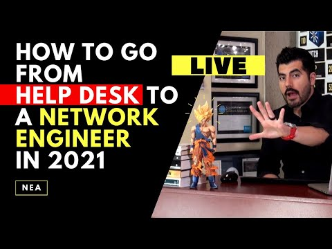 How to go from HELP DESK to a Network Engineer in 2021 – Roadmap