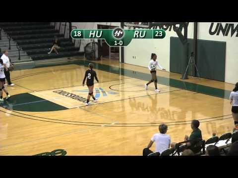 HU Volleyball vs. Roosevelt University