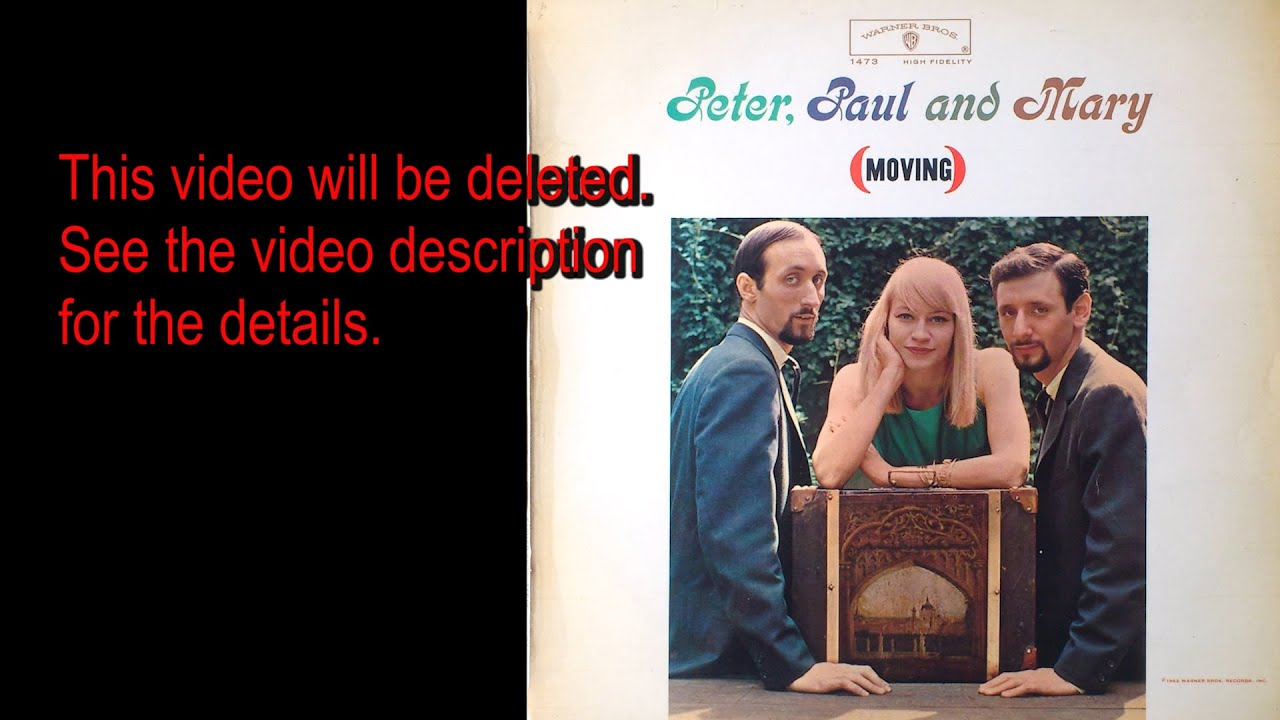 Peter, Paul and Mary - A Soalin' - YouTube