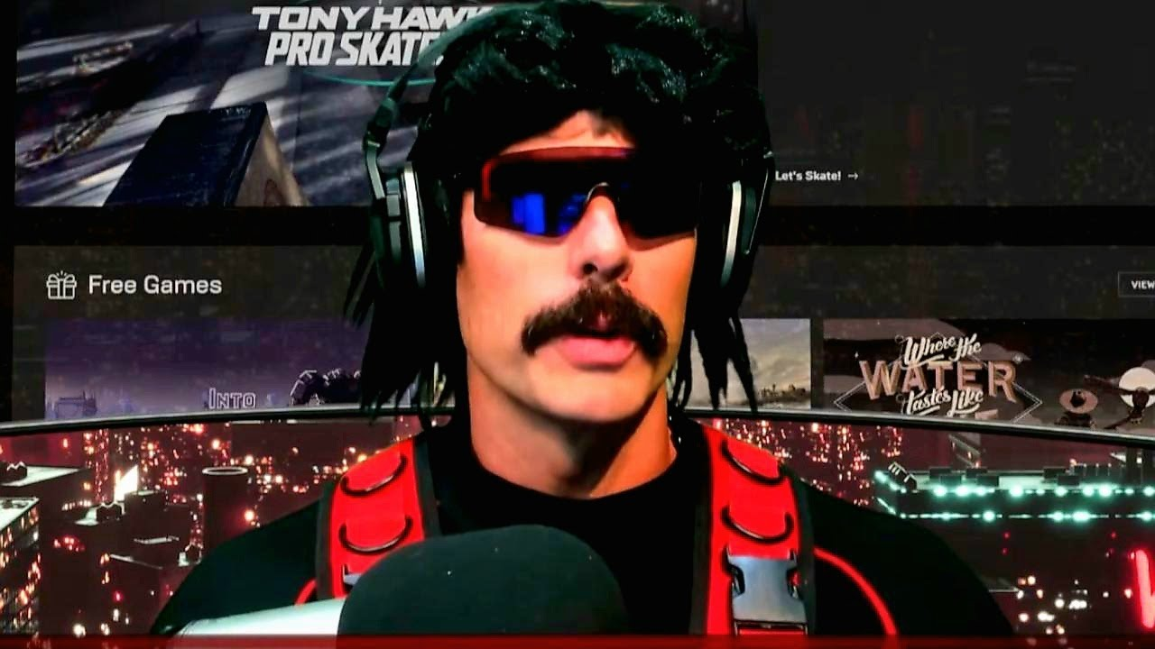 DrDisrespect's Official Announcement: Currently Working on a Video Game.