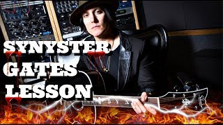 Gambar cover Synyster Gates Guitar Lesson | Nightmare Arpeggios!!!