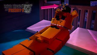 Minecraft JUMPING INTO FNAF FREDDYS NIGHTMARE!! - Donut the Dog