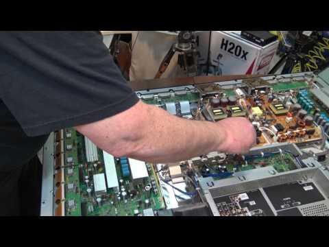Panasonic TH50PZ750 shut down   5 Blinks