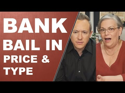 BANK BAIL IN: Price & Types of Gold + Q&A with Eric and Lynette – 3/20/2018