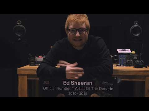 Jeff Stevens - Ed Sheeran Is the UK's #1 Artist of the Decade