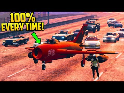 How To Spawn Your Aircraft Right Next To You 100% Everytime In GTA Online!