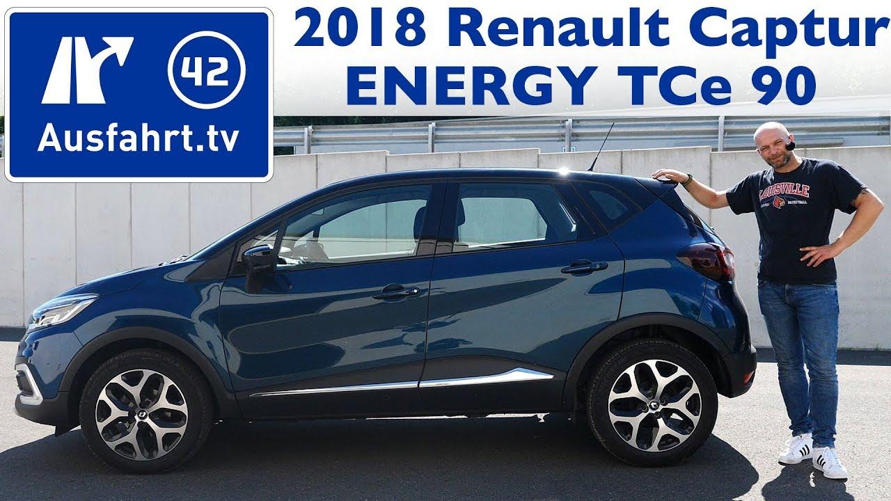 2018 Renault Captur Energy Tce 90 Kaufberatung Test Review
