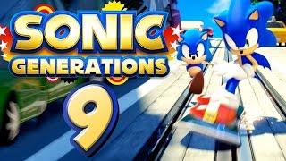 SONIC GENERATIONS # 09 ★ City Escape - Classic & Modern [HD | 60fps] Let