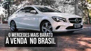 O Mercedes-Benz mais barato do Brasil: CLA 180 - Teste Webmotors