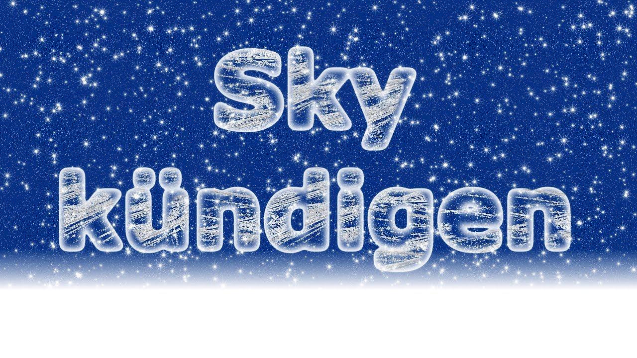 Sky Kündigen Wie