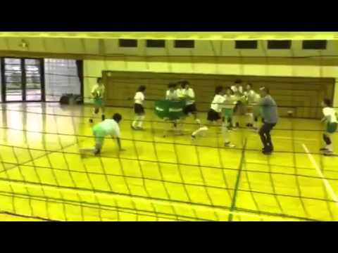 Beavers Volleyball Club in Japan defensive movement