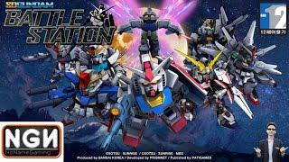 เกมมือถือไทย SD Gundam Battle Station TH - ระเบิดสงครามหุ่นรบกันดั้ม !!
