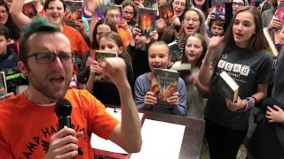 Rick Riordan (Hopefully) Regales Rochester With Riveting Reads #RickROCs