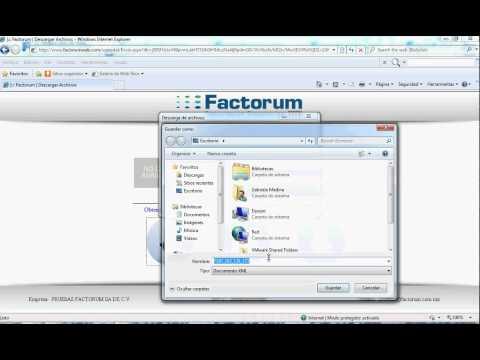 Uso del Webservice Portal en el Sistema Factorum