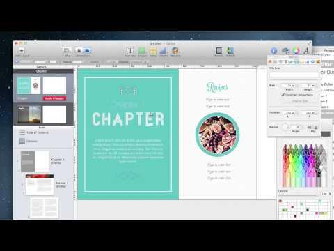 PART 2 iBooks Author Tutorial - Create a Custom Template - YouTube