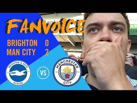 Aguero goal vs Brighton and gives Man City an opening win   Brighton 0-2 Man City   90min FanVoice
