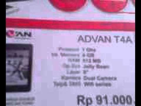 Tablet Vandroid ADVAN T4A Dual Camera