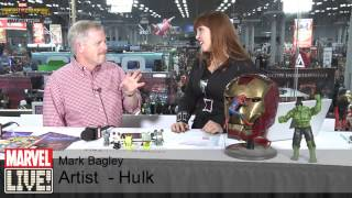 Mark Bagley Talks His Inspirations and Art on Marvel LIVE! at New York Comic Con 2014