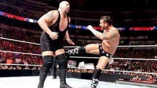 CM Punk vs. Big Show: Raw, August 13, 2012