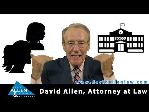 David Allen Legal Tuesday: School District Sued for Allowing Bullying