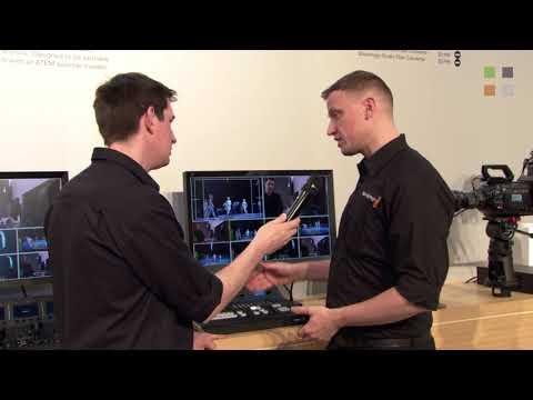 Blackmagic ATEM Television Studio Pro 4K at NAB 2018 thumbnail
