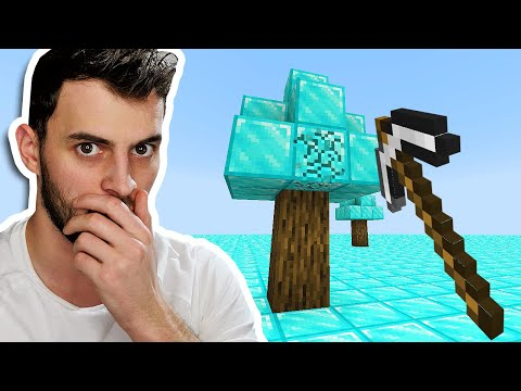 Minecraft, But the Entire World is DIAMONDS - SB737