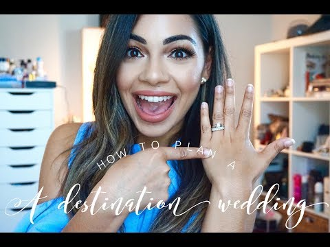 How to: Plan a Destination Wedding + My Tips/Advice | AMarieBeauty