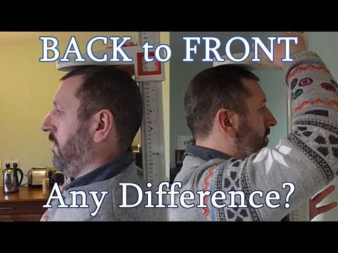 Back To Front Measurement: Any Difference?