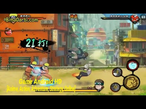 Game Android HD) Naruto Mobile | [Anime, Action, Adventure
