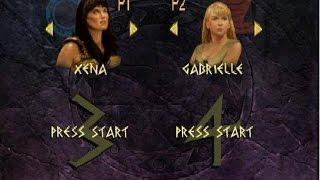 Xena: Warrior Princess : The Talisman of Fate - Versus Mode