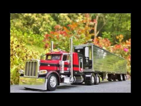 Diecast Toy Trucks:  Peterbilt