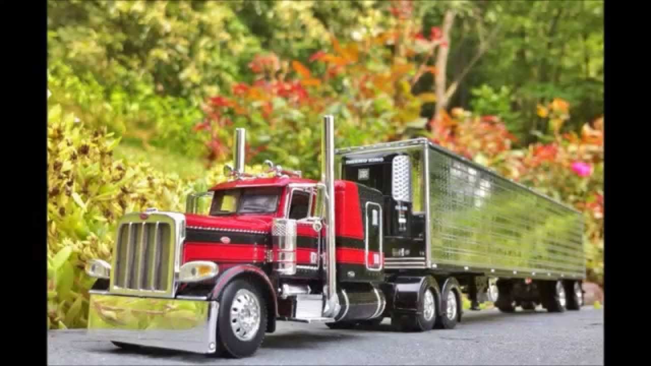 Toy Model Trucks : Peterbilt toy trucks and trailers wow